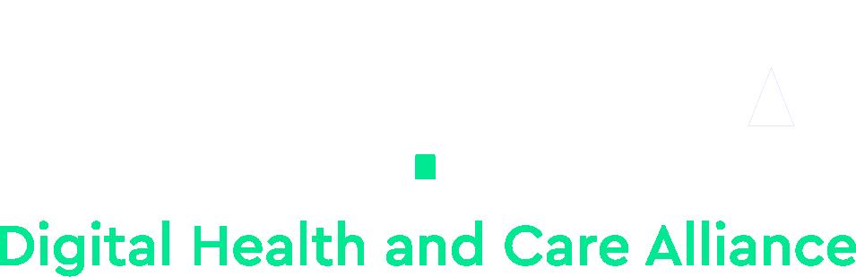 DHACA Logo dark background